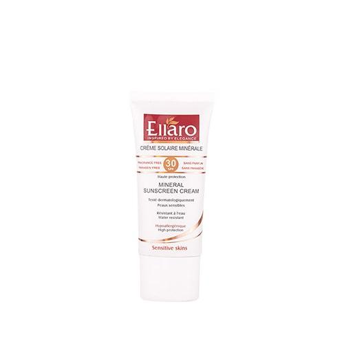 کرم ضد آفتاب مینرال الارو مخصوص پوست های حساس و افراد باردار