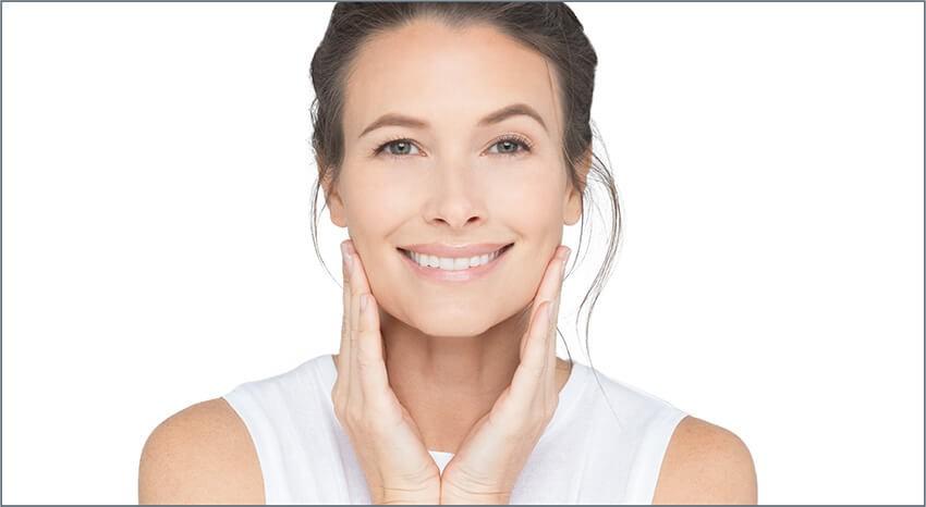 شادابی پوست بعد از استفاده از کرم ویتامین سی