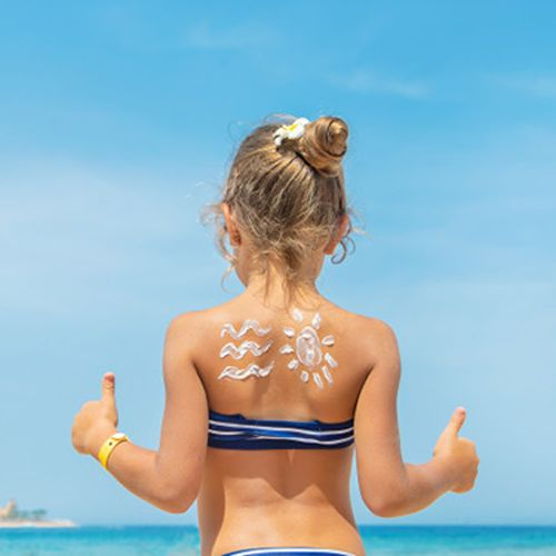 کرم ضد آفتاب کودکان